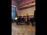 закрытый концерт классической музыки. дом композиторов