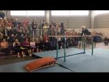 Возраст спорту не помеха! Замечательное выступление 91-летней гимнастки.