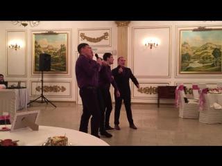 Поздравления от друзей жениха. Акрамовы 21.01.2017