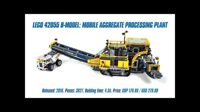 'LEGO Technic 42055 B-model