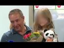 Лиза дома девочка, мать которой пыталась бежать в Сирию, вернулась в Россию