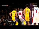 October 31, 2017 - Pistons vs. Lakers - Brook Lopez Blocks Tobias Harris Dunk Attempt