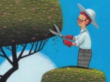 Удивительный сад Питера Брауна The Curious Garden by Peter Brown