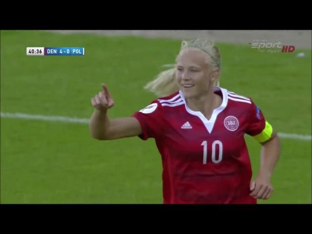 Pernille Harder Goals Skills 2017