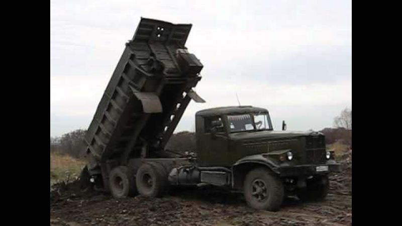 KrAZ-256B old immortal soviet dump truck Pt. 2