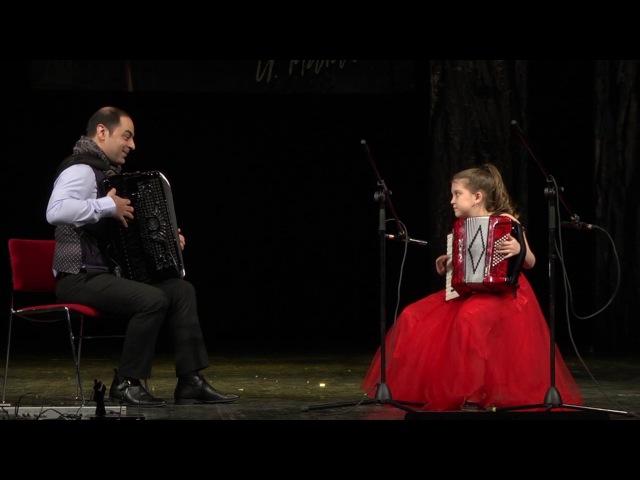 ЭМИ ДРАГОЙ ( Emy Dragoi ) Румыния и Алина аккордеон