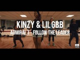 Cours Dancehall - Kinzy &amp Lil Gbb - Studio MRG - Admiral T Follow the leader