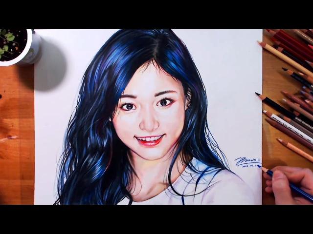 트와이스 - 쯔위 (Drawing Tzu-yu 子瑜, Twice Cheer Up Teaser) drawholic