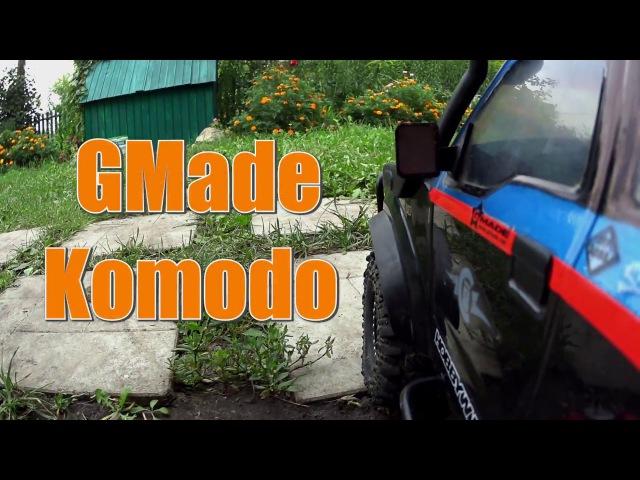 Gmade Komodo...crawling in the backyard...