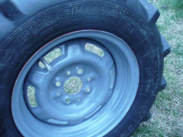 Обзор самодельных колёс для мини трактора