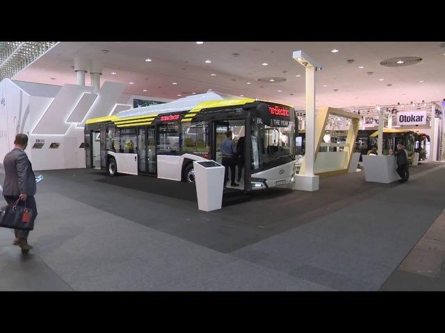Elektryczny Solaris Urbino Bus of The Year 2017 w Hanowerze To nie prezent to jest wypracowane