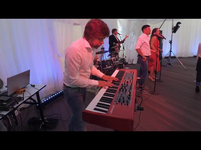 Keyboard Cam Part 1 Cover Band Keyboardist