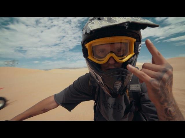 Дикая пустыня в сша / дрифт на джетски и квадроциклах / Озеро в калифорнии