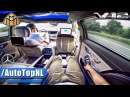 MERCEDES S CLASS MAYBACH S600 V12 PASSENGER POV ALL FEATURES GADGETS TOP SPEED by AutoTopNL