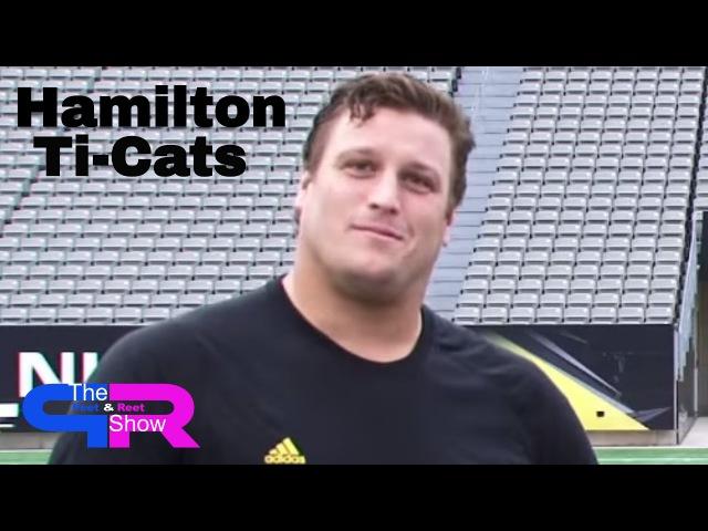 Hamilton Ti-Cats Peter Dyakowski