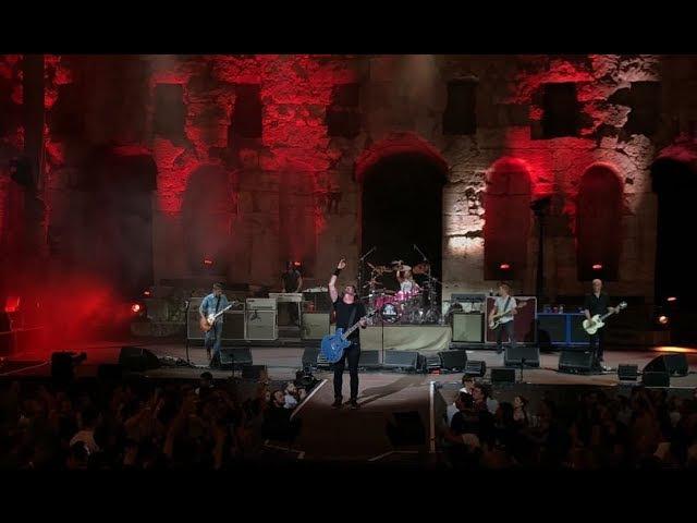 Foo Fighters - Arrows (Live debut) 10/07/2017 at Odeio Herodou Attikou, Athens, Greece