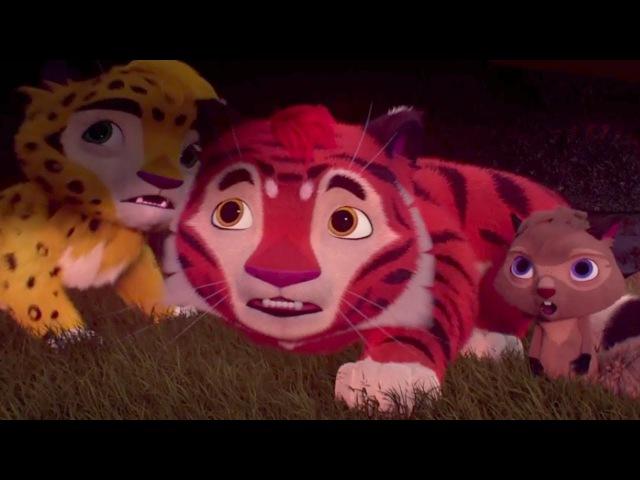 Лео и Тиг Красный олень Серия 6 Новые российские мультфильмы для детей о жителях тайги