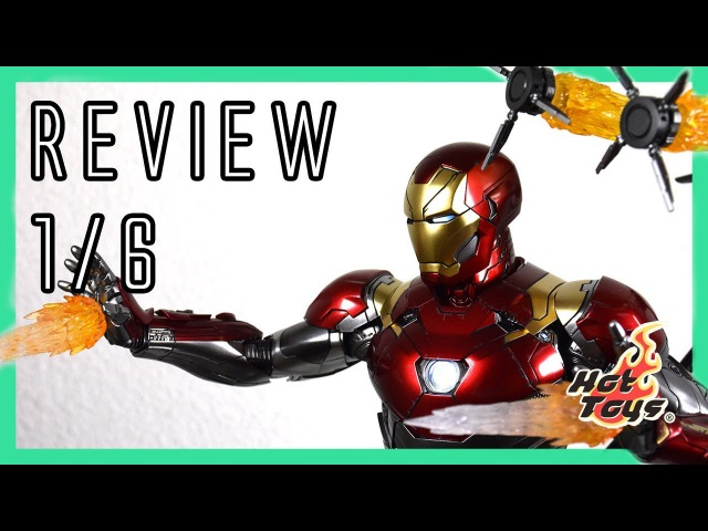 Hot Toys Iron Man Mark 47 XLVII Spiderman: Homecoming 1 6 review