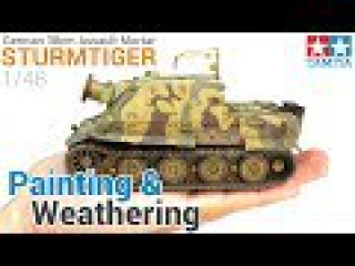 Painting and Weathering a German Tank, from start to finish! (Tamiya's 1/48 Sturmtiger)