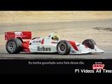 1992 - Teste de Ayrton Senna com um carro da Indy