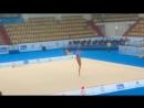 Полина Хонина булавы контрольная тренировка World Challenge Cup 2017 Казань