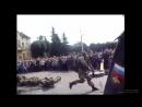 Показательные выступления разведроты 79й мотострелковой бригады в день танкиста 2017 в Советске