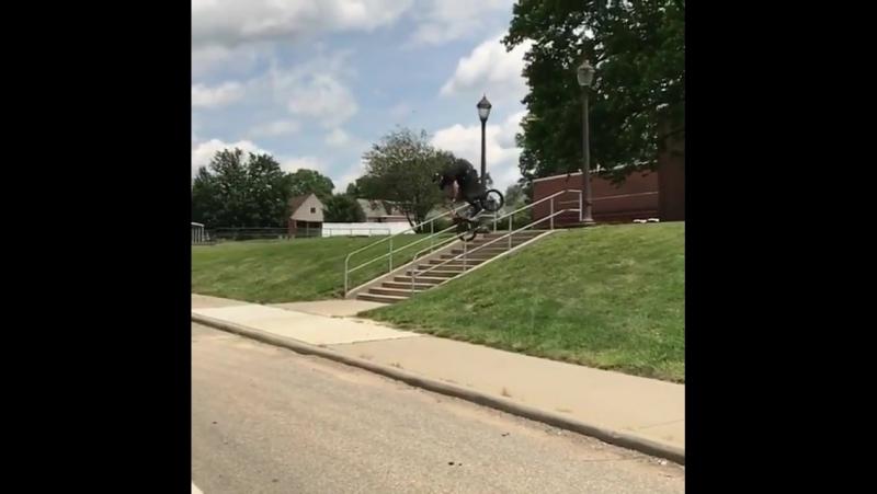 Tony Neyer sending a rail