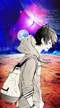 картинки на заставку телефона аниме