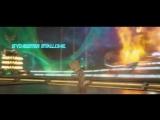 Стражи Галактики 2. Малыш Грут танцует на фоне битвы (1)