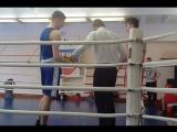 бокс, синий угол