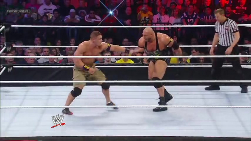 |WM| Ryback vs John Cena vs Cm Punk - Survivor Series 2012