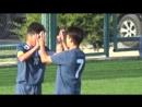 Кончиев Асет делает счет 3-1 в матче против ОСДЮСШОР 2002