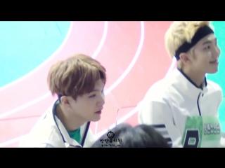 160829 아육대 인사하러 온 방탄소년단(BTS) 슈가 랩몬스타