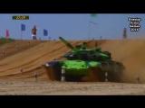 Russian Army Games 2016…Tank Biathlon China vs Iran.