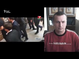 Блогер Максім Філіповіч камэнтуе рэпартаж аб пратэстах «дармаедаў»