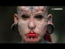 Женщина из татуировок