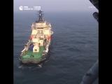 Посадка Ка-27 на ледокол «Илья Муромец»