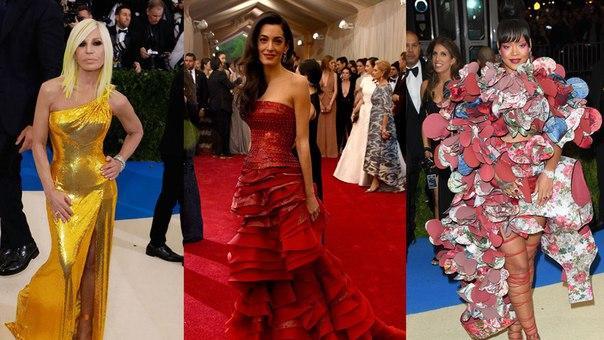 Рианна, Амаль Клуни и Донателла Версаче - ведущие Met Gala 2018