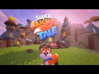 Игра - Super Lucky's Tale - 15 минут демонстрации геймплея на Xbox One X - [Furry / Фурри]
