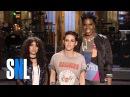 Leslie Jones Is a Big Fan of SNL Host Kristen Stewart & Alessia Cara
