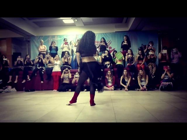 Dariya Mitskevich - Workshop Aini ya Aini Festival 2017 - Modern Drum Solo