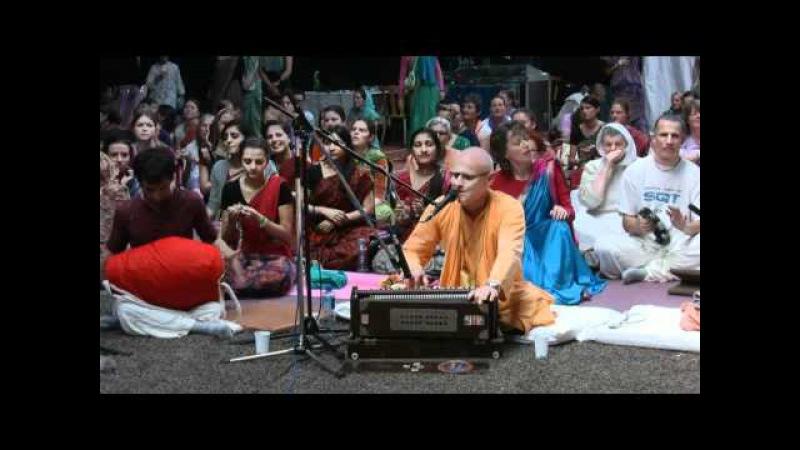 Kirtan Mela Nama Yagna with H.H. Kadamba Kanana Swami 02.09.2011 in Feriendorf Hoher Hain - Germany
