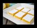 Лимонные Квадратики Lemon Squares Bars Tanya Shpilko