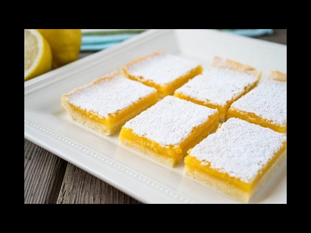 Лимонные Квадратики | Lemon SquaresBars | Tanya Shpilko