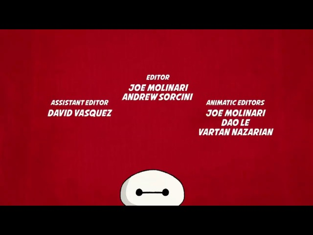 Big Hero 6 The Series Credits