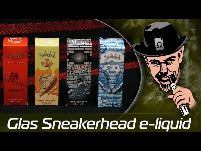 Glas Sneakerhead e-liquid - Необычный ПРЕМ