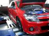 ASTRA VXR TURBO ON DYNO AFTER MODS 180KW !!!!