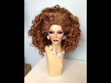 Tutorial - How To Build HUGE Drag Hair And Rooted Wig Line - Part 2