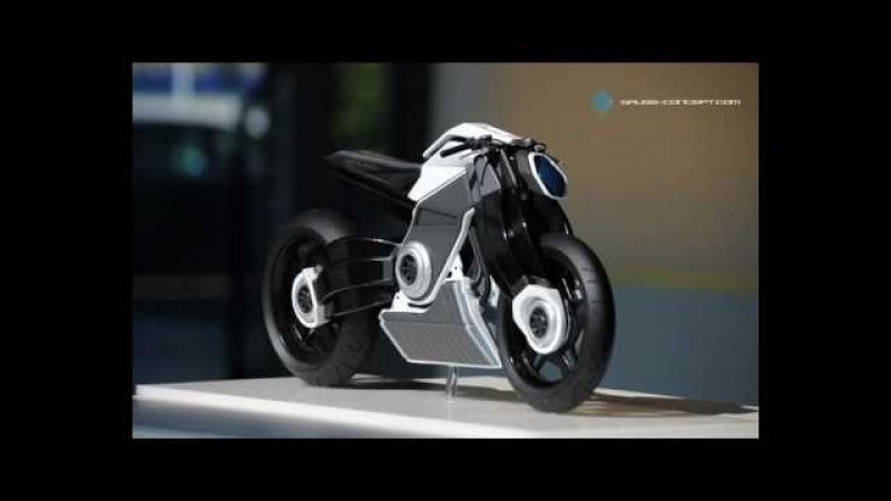 Gauss - Concept by Attila Kiss (electrical Motorcycle) Soundrack 01 - Into The West - Taunus