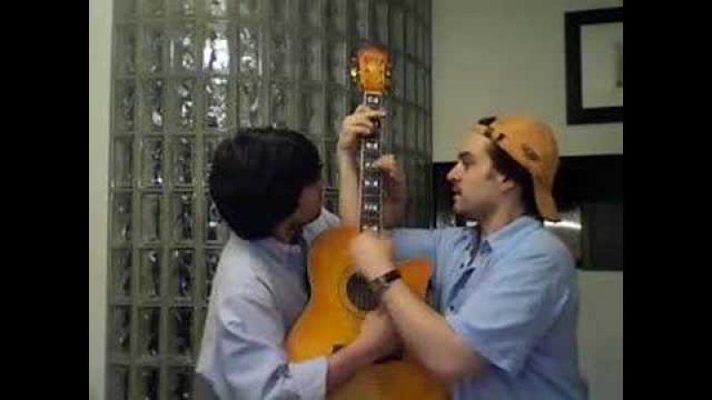 90210 Twins one guitar